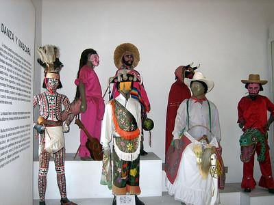 Exhibit of Dance and Masks.  Museo de Artes Populares (Museum of Popular Art)