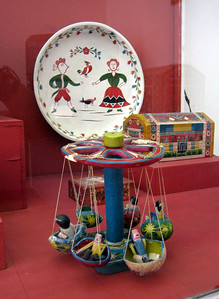 Toys at the Museo de Artes Populares (Museum of Popular Art)