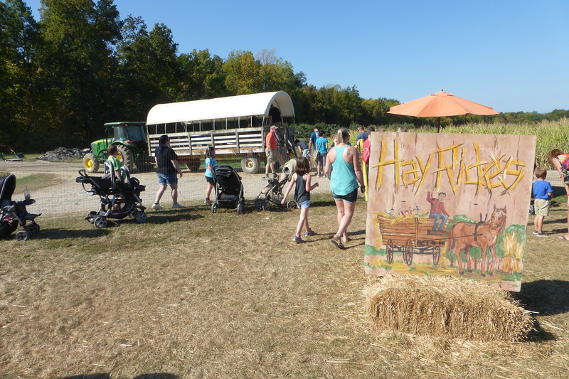 Next up... the Hayride!