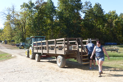 This was our hayride.
