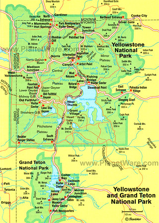 Grand Teton National Park Wyoming and Targhee National Forest