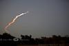 Space Shuttle Leaving Earth's Atmosphere - Seen from Okeechobee Florida