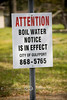 Boil Water Notice in Gulfport Mississippi