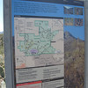 """3.2.09 - Saguaro National Park - Trail map of the area we """"brushed"""""""