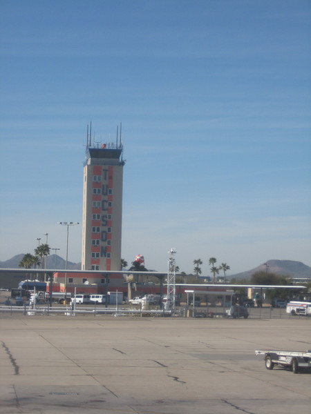 2.28.09 Arriving in Tucson, AZ