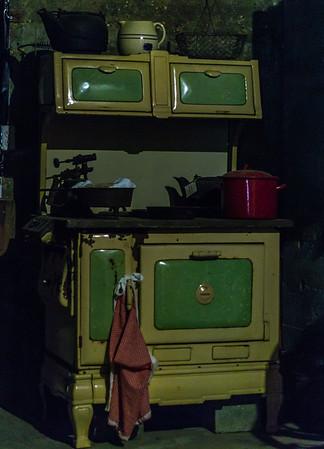Stove, kitchen