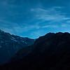 Blue Hours (Annapurna, Huichuli and Macchhapucchre)