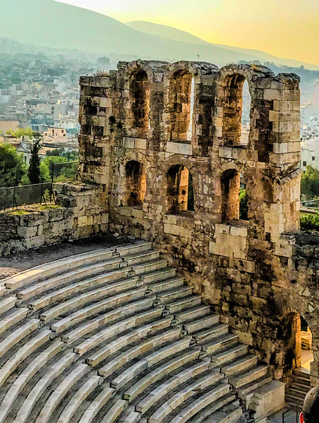 Herodes Theatre, Athens. October 20, 2018