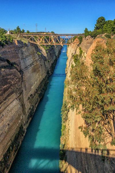 Corinth Canal, October 25, 2018.