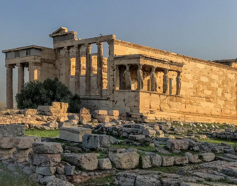 Acropolis. Athens, Greece. October 20, 2018.
