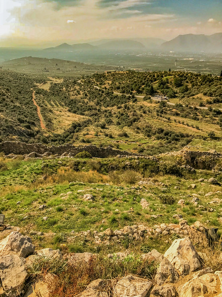Mycenae, Greece/ October 24, 2018.