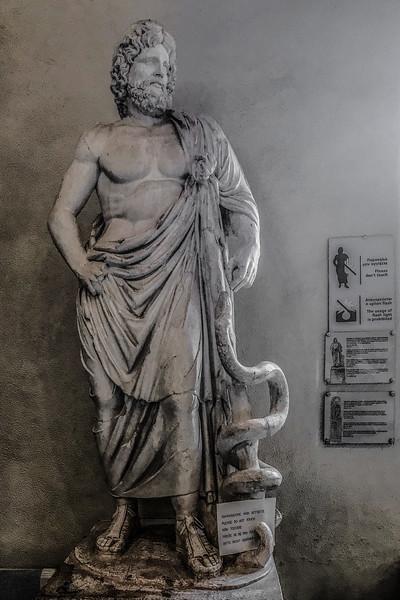 Asclepius - Epidaurus, Greece - October 22, 2018