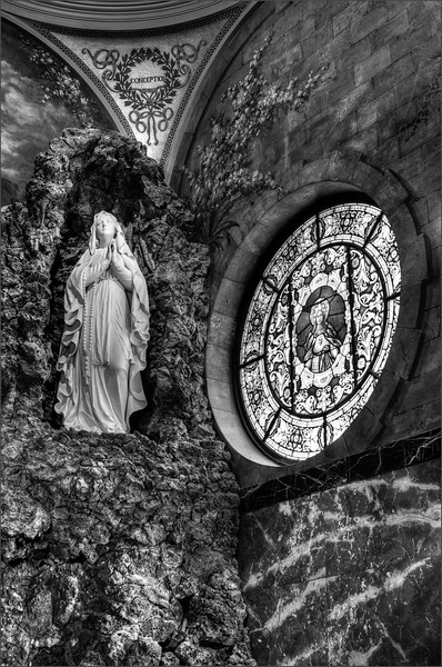 Our Lady of Victory Basilica Grotto