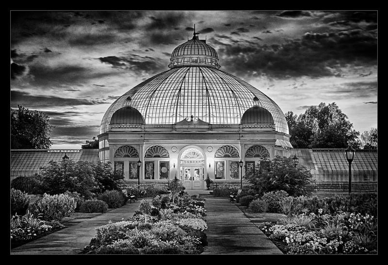 Botanical Gardens at Night.