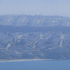 Streets of San Francisco, seen from Marin Headlands [zoom, autocontrast]