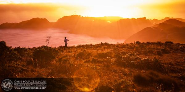 Marin Headlands - Hawk Hill Runner