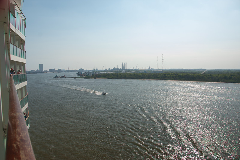 Departing Galveston, Texas on Sunday afternoon March 25th, 2012.