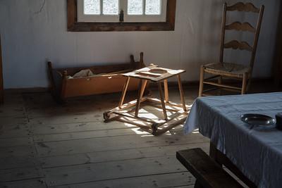 Antique baby walker, Fortress Louisberg