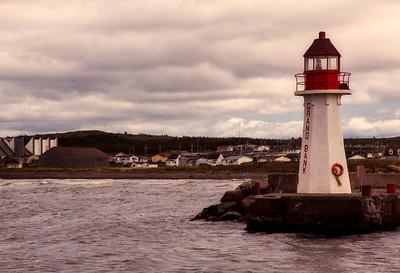 Lighthouse, Grand Bank, Newfoundland