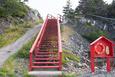 The Red Stairs, Southeast Bight, Newfoundland