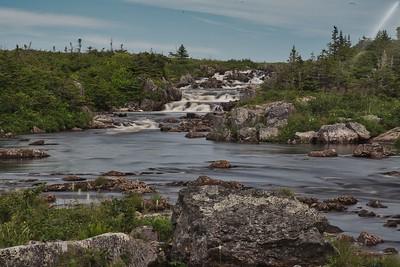 Waterfall, Taylor's Bay, Newfoundland