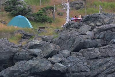 Campers, Grand Manan, New Brunswick
