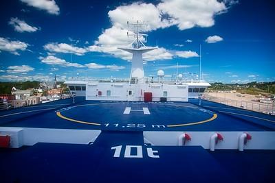 Helipad, Newfoundland Ferry