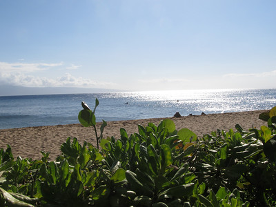 View of Kaanapali Bay from Hotel