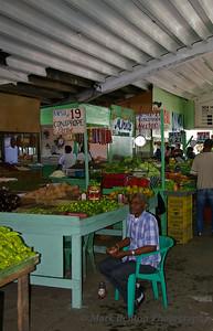 Indoor Fruit Stand