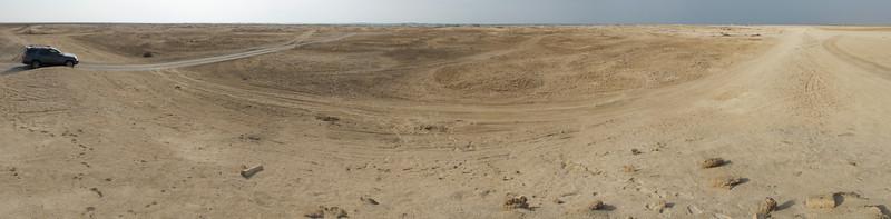 Zubarah fishing village archeological site, Qatar.