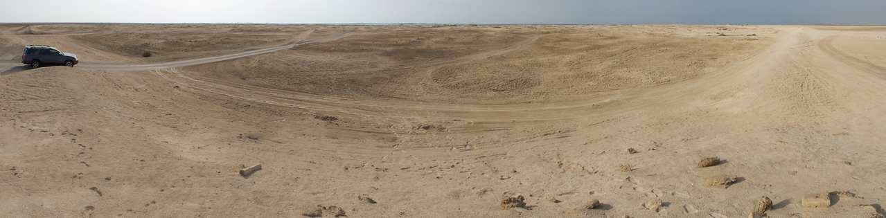 Zubarah fishing village archeological site, Qatar.