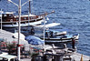 Along the waterfront in Marmaris, Turkey, September 1982