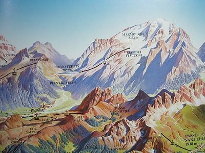 Marmolada((Punta Penia)   3343m - Highest Peak in Dolomites 2008