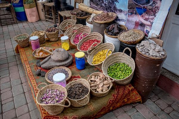 Souk El Had, Morocco