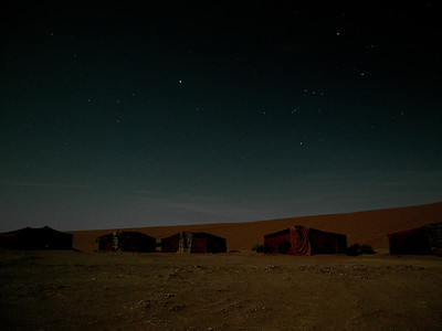 Bivouac Nature Dream sous la garde des constellations du grand chien et d'Orion