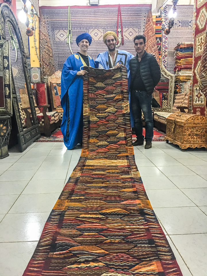 Rug dealer that told us many 'stories' I think we have been had
