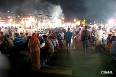 Jamaa El Fna Marrakech 31st August 2007
