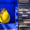 Stairs of Granite, Walls of Blue