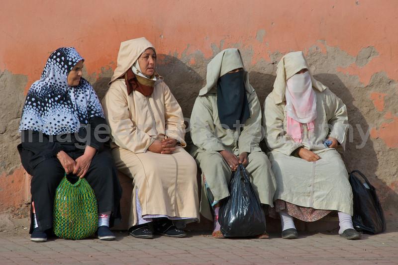 Moroccan Women take a break