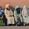 Moroccan Women take a break