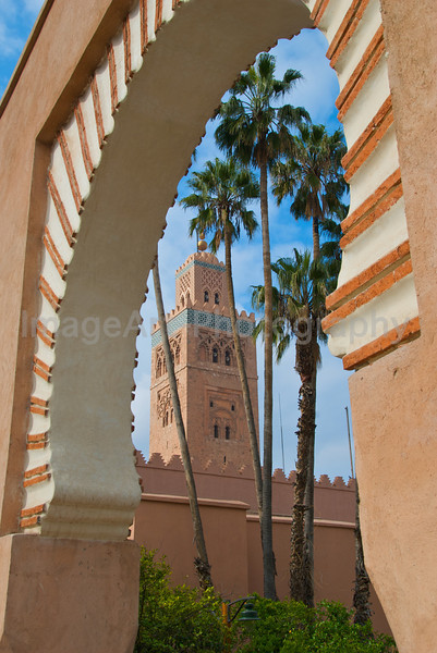 Koutoubia Mosque and Minaret Tower