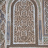 Plaster carving and decoration in Morocco