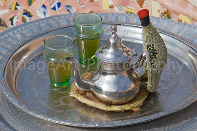 Moroccan Mint Tea Service