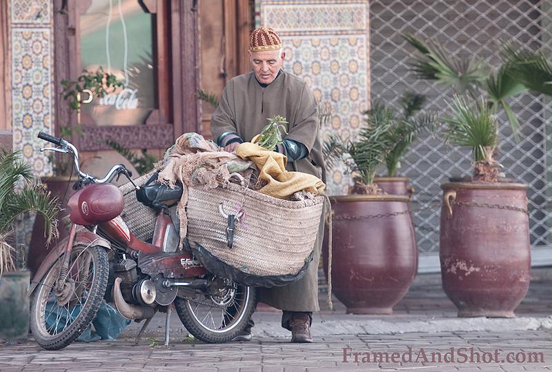 <b><center><em>The herb seller