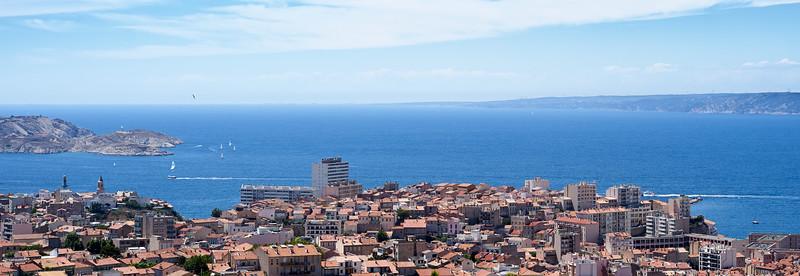 Marseille from the Basilique Notre-Dame de la Garde