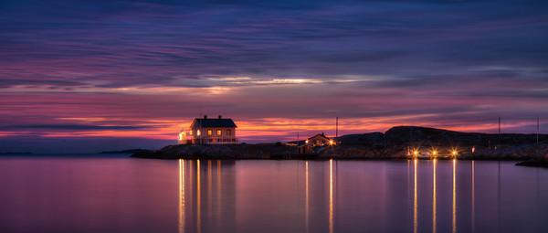 Late Sunset over Marstrand