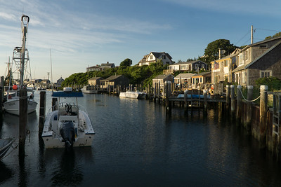 The view from the back porch of the Galley takeout shack. Menemsha, Martha's Vineyard.