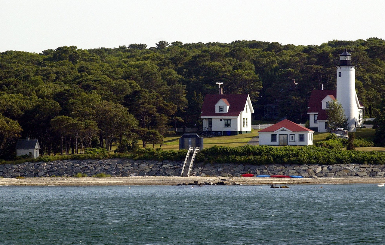 Martha's Vineyard ferry boat ride. WEST CHOP LIGHTHOUSE?( Damon Dahlen / The Washington Times ) http://www.washingtontimes.com/ (Damon Dahlen/Washington Times)