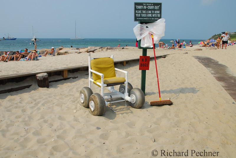 """Beach Craft"", Menemsha Beach"