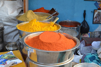 12B Chilli powder, Tumeric and Coriander powder